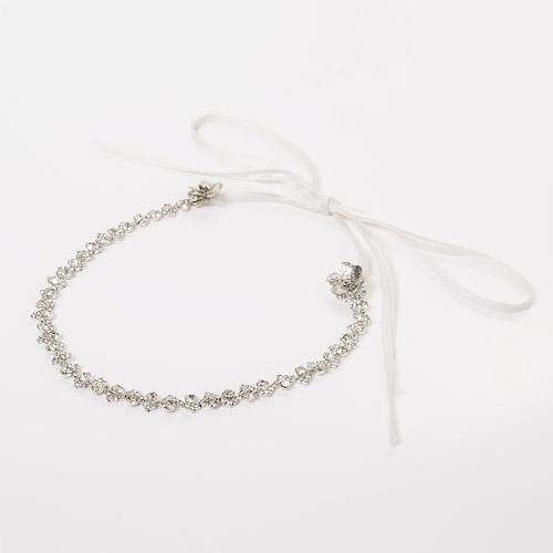 PAOLO HEAD DRESS(パオロヘッドドレス)のリボンは2種類からお選びいただけます(リボン:ホワイト)