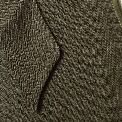 細かいヘリンボーン織りで、起毛感のある素材です