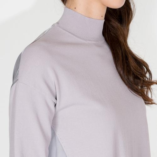 ダル糸ニットは、柔らかく涼感ある着心地で、毛玉にならず美しい状態をキープできるのが特徴です