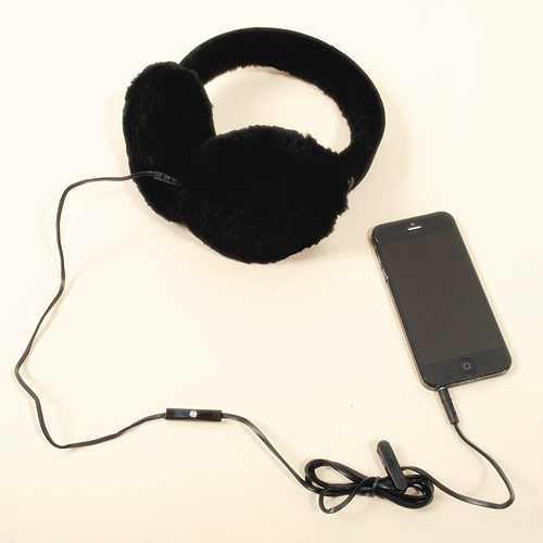 ムートンブーツの暖かさを耳元でも実感できる「ヘッドフォン」イヤーマフ