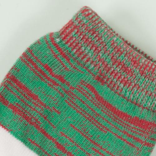 赤ちゃんのデリケートな肌にも優しく快適なコットンを使用し、特殊な編み方により足首の締めつけを和らげ、赤ちゃんのストレスを軽減します◎