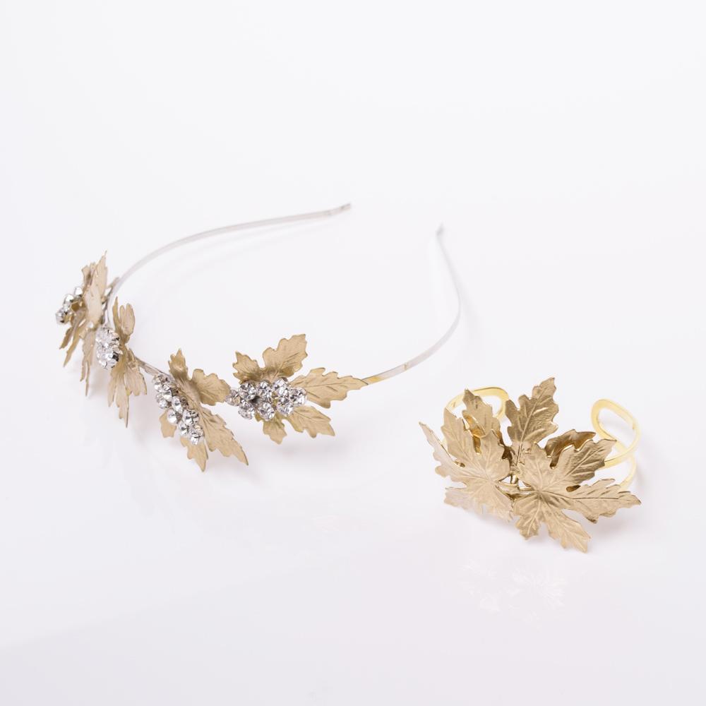 Golden Ivy Bracelet(ゴールデンアイビーブレスレット)とセットで付けるのも素敵です◎